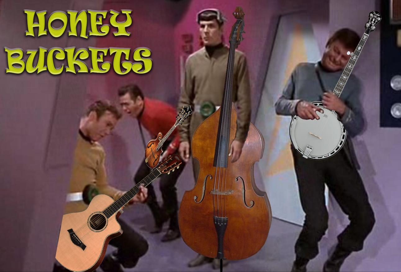 Honey Buckets - Demo, Bluegrass Band