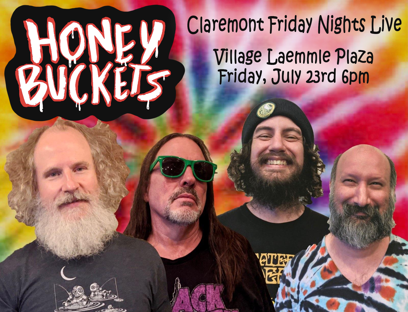 Honey Buckets Bluegrass Band - Claremont Friday Nights Live, July 23rd 2021