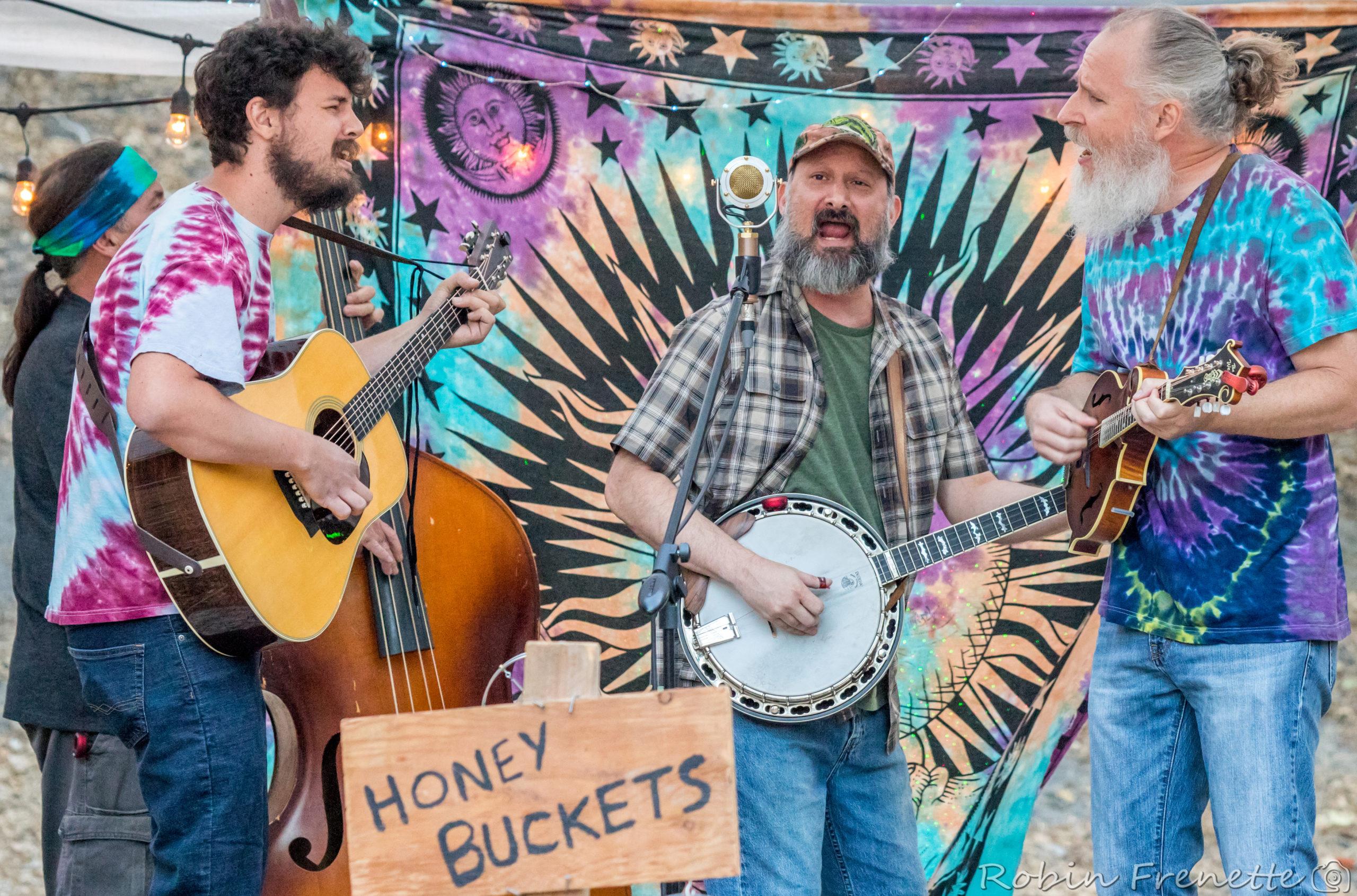 Big Pines Mountain Music Wrightwood 2021 - Honey Buckets Bluegrass Band
